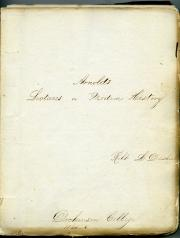 School papers, 1840s (Box 1, folder 2)