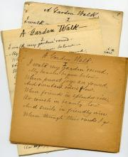 Poetry, undated (Box 1, folder 23)