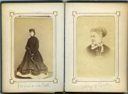 Photograph album, c.1870 (Box 1, folder 1)