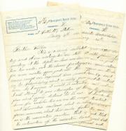 Letters, 1862 (Box 1, folder 4)