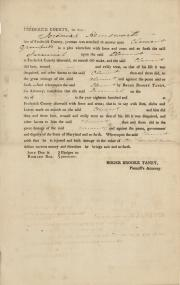 Legal brief, 1815 (Box 3, folder 1)