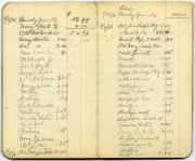 Account book, 1935-1936 (Box 5, folder 4)