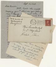 Letters, 1928-1929 (Box 1, folder 5)