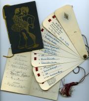 Dance cards, 1928 (Box 1, folder 1)