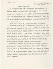 Essay instructions, c.1979 (Box 1, folder 2)