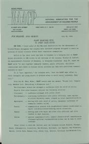 Press release, 1964 (Box 3, folder 5)