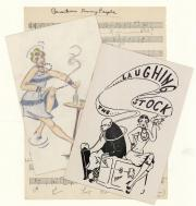 Theatre materials, 1953 (Box 1, folder 22)