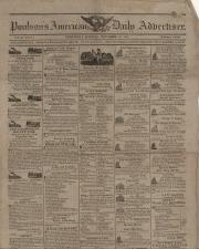 Newspaper, 1817 (Oversized, folder 1)