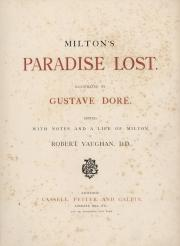 Illustrations from John Milton's Paradise Lost by Gustave Dore