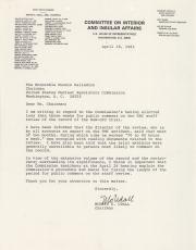 Letter, 1983 (Box 2, folder 11)