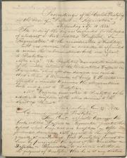 Minute book, 1832 (Box 1, folder 5)