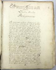Pieter Burman journals