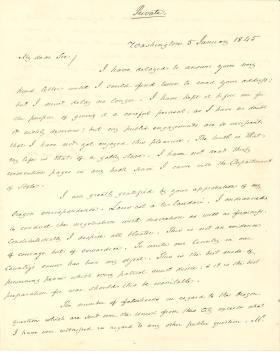 Letter from James Buchanan to James Tallmadge