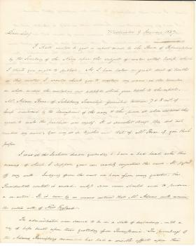 Letters from James Buchanan to John Reynolds