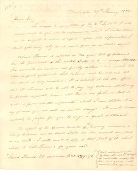 Letters from James Buchanan to Jacob Halderman