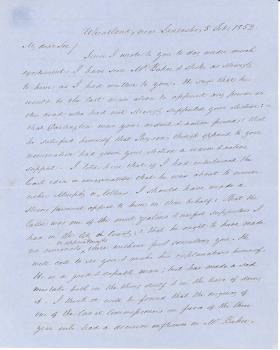Letters from James Buchanan to James Campbell