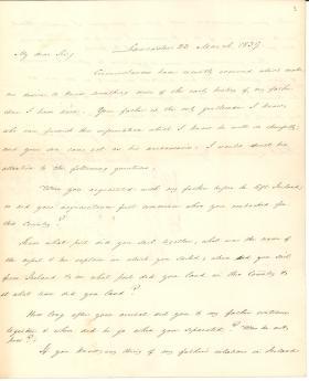 Letter from James Buchanan to Robert Lamberton