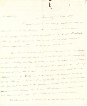 Letters from James Buchanan to Charles Jared Ingersoll