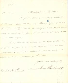 Letters from James Buchanan to Joel R. Poinsett