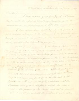 Letter from James Buchanan to David Myerle