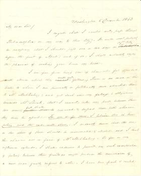 Letters from James Buchanan to John M. Read