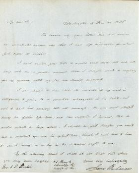 Letters from James Buchanan to John Durbin