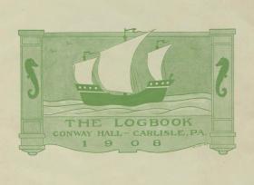 Logbook, 1907-08