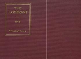 Logbook, 1915-16