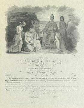 Belles Lettres Society Diploma (Sample)