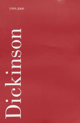 Dickinson College Bulletin, Annual Issue, 1999-00