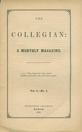 Collegian (Vol. 1, No. 1)