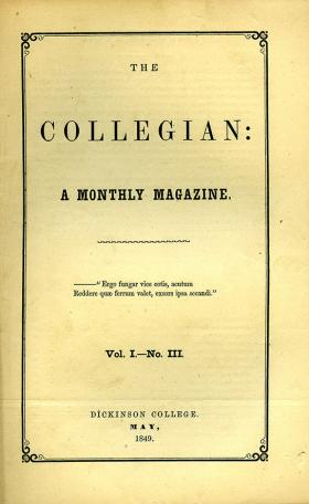 Collegian (Vol. 1, No. 3)