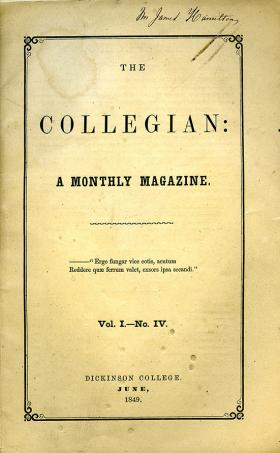 Collegian (Vol. 1, No. 4)