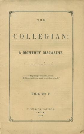 Collegian (Vol. 1, No. 5)