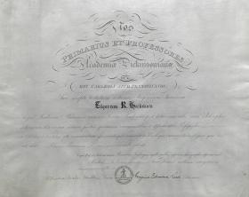 Bachelor of Arts Diploma - Edgar Heckman