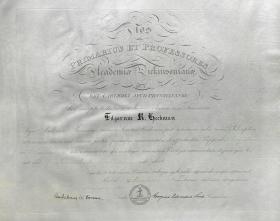 Master of Arts Diploma - Edgar Heckman
