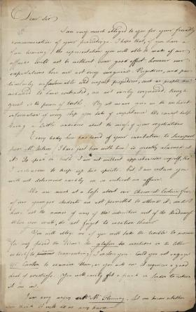 Letter from Joseph Priestley to John Seddon