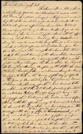 Legal Document, William R. King v. Sampson Delashmitt