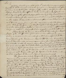 Letter from Thomas Smith to Alexander Dallas