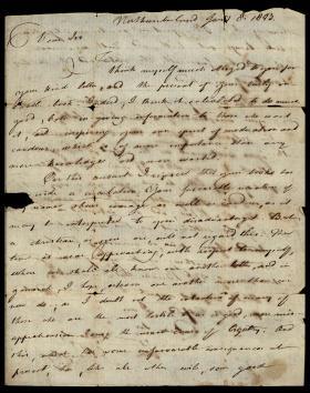 Letter from Joseph Priestley to John Evans