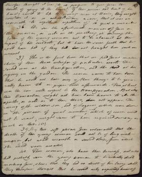Manuscript Page from Joseph Priestley's Notes on All the Books of Scripture