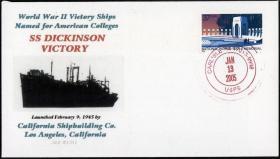 SS Dickinson Victory Commemorative Envelope
