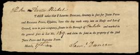 Notice from Samuel Duncan to Charles Nisbet