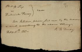 Legal Document, Philip Six v. Frederick Forney