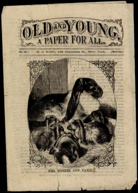 """Old and Young"" No. 46, Edited by Horatio Collins King"