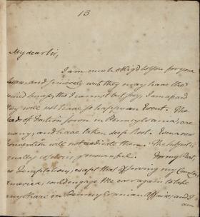 Letter from John Dickinson to Benjamin Rush