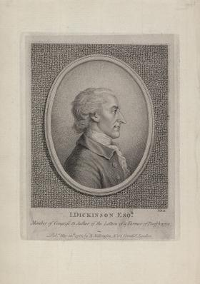 Engraving of John Dickinson