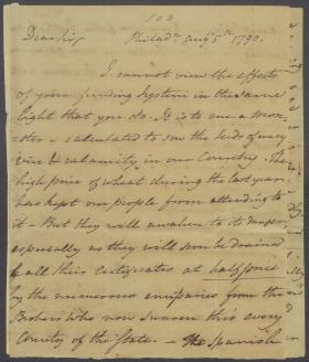 Letter from Benjamin Rush to Thomas Fitzsimons