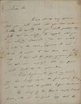 Letter from Joseph Priestley to John Edwards