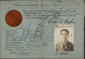 Allen Tanner passport